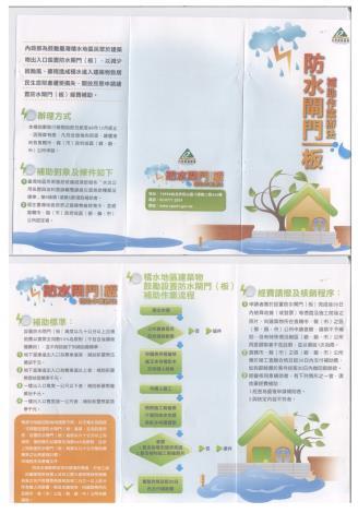 防水閘門補助作業辦法(JGP圖片檔)