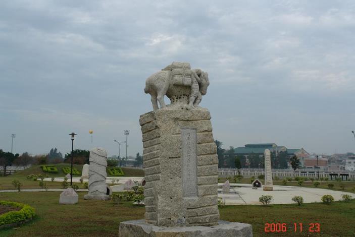 金城鎮公所-石雕公園及伯玉亭之照片01