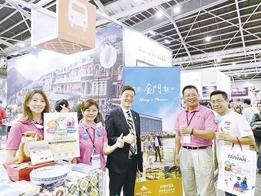新加坡國際旅展,金門縣政府推介金門觀光!(金門縣政府觀光處提供)