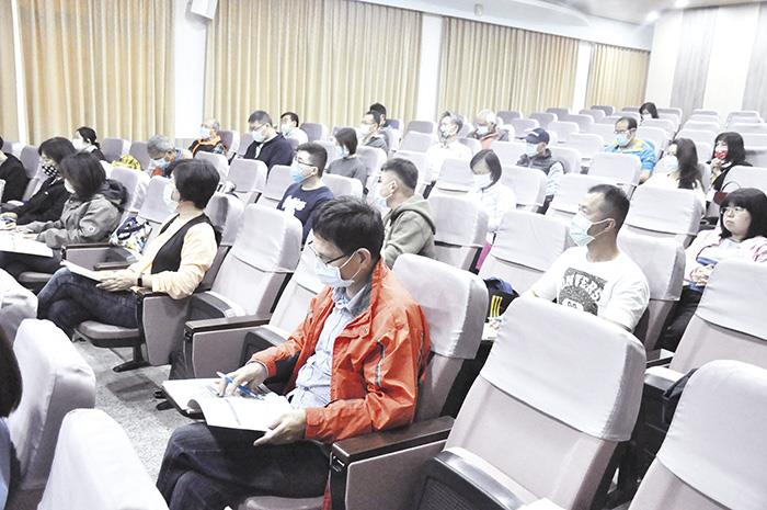 人民團體會務運作輔導開課 60人參加