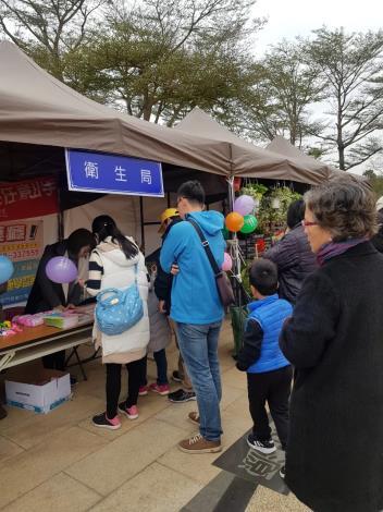 1090118配合林務所新春花市設站辦理心理衛生宣導(2)