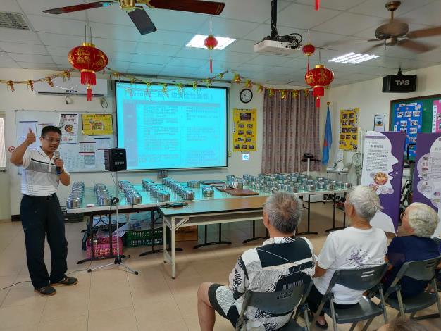 109年社區藥物濫用防制宣導-金湖鎮