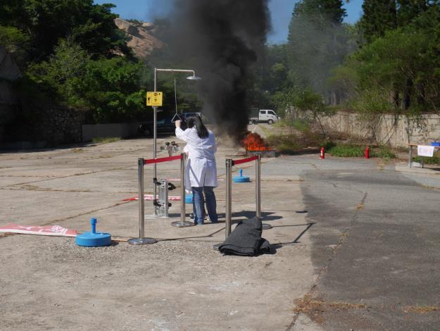 1090807 環保局辦理金門縣毒性化學物質災害應變演練