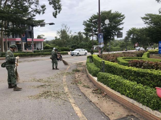 1090811 米克拉颱風環境災後復原