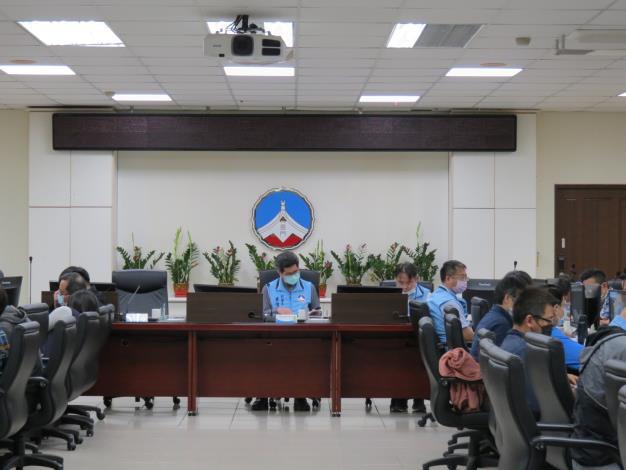 1100408 「金門縣政府低碳家園推動小組」110年度第1次會議
