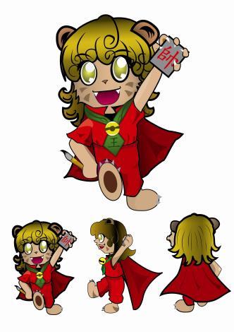 風獅爺是為了防止壞害及祈禱豐收,以全身大紅表示吉祥。