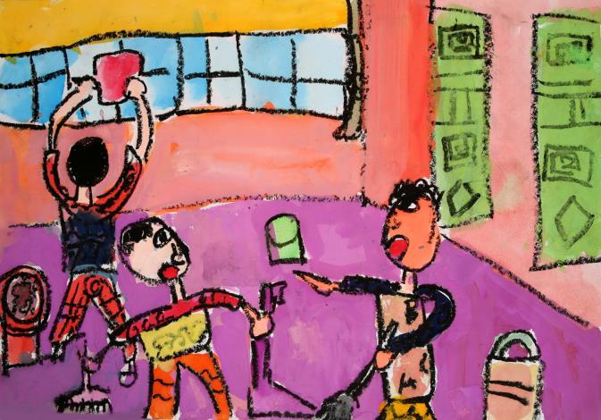 國小中低年級組,佳作,中正國小,301,張君維,清淨家園,彩色家園