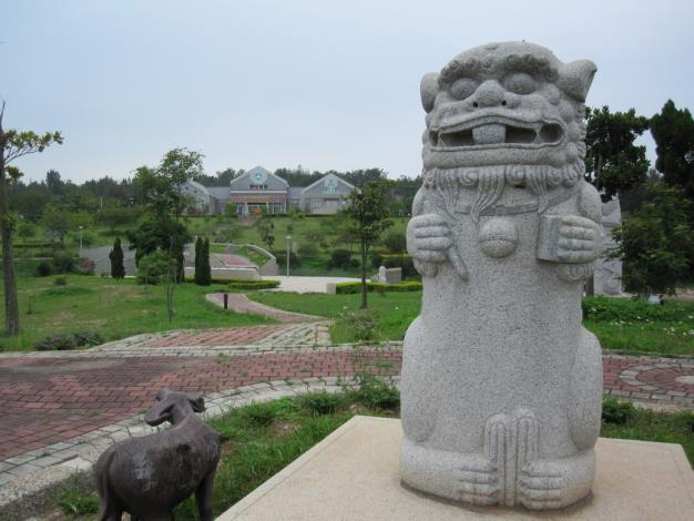 風獅爺為金門守護神,現為金門吉祥物,趨吉避凶、守護金門,現為金門的代表。
