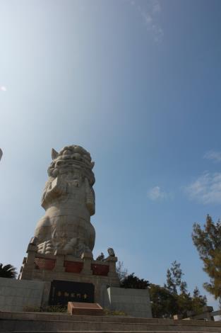 名次:佳作 作品名稱:藍天,陽光,風獅爺 許鈺珊 攝