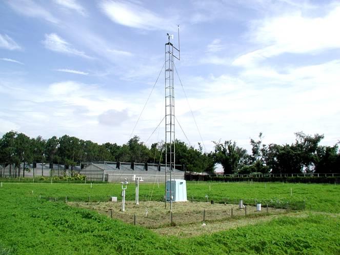 農試所-氣象觀測坪照片