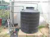 農試所-養液桶及管路架設照片