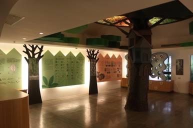 認識植物世界展示區