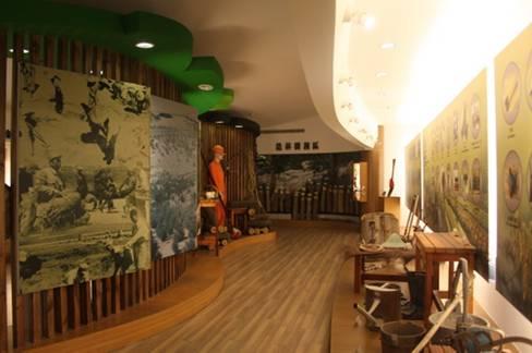 造林樹種及用具展示區