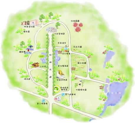 林務所-林務所平面圖