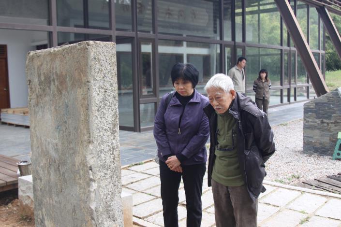 101年前戰地記者-秦凱返金見證金門造林成果