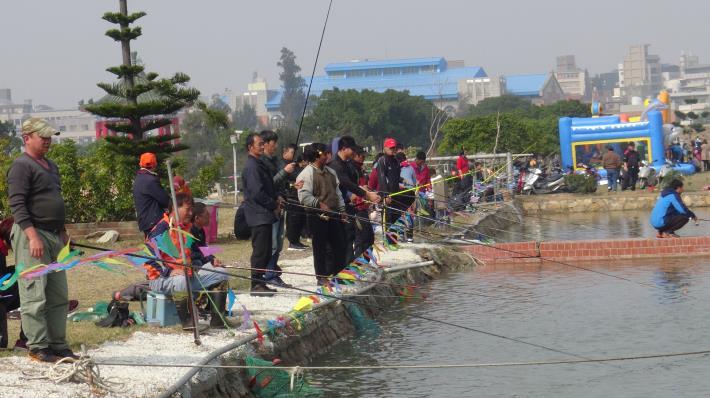 一日漁夫釣魚趣