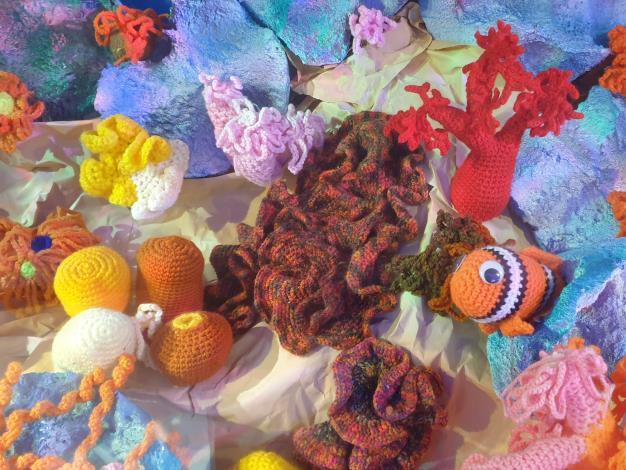 110.9.30-水試所舉辦「珊瑚很有事海洋教育巡迴特展-針織水母DIY課程」開始報名-新聞相片-02