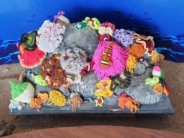 110.9.30-水試所舉辦「珊瑚很有事海洋教育巡迴特展-針織水母DIY課程」開始報名-新聞相片-03