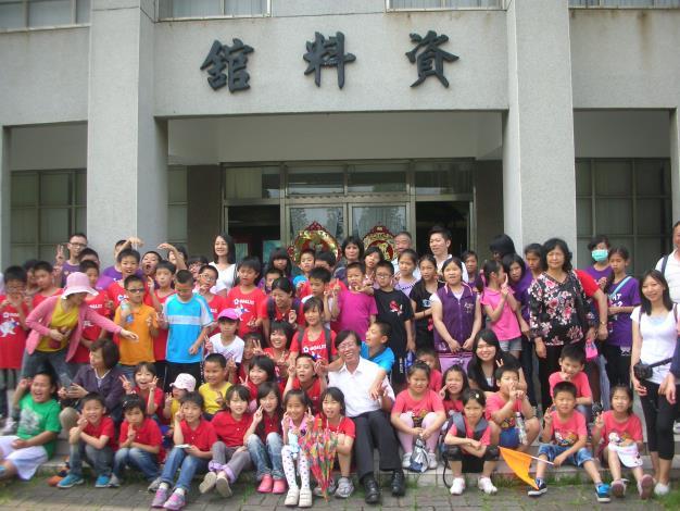 5月23日小金門上岐國小師生155人次參訪