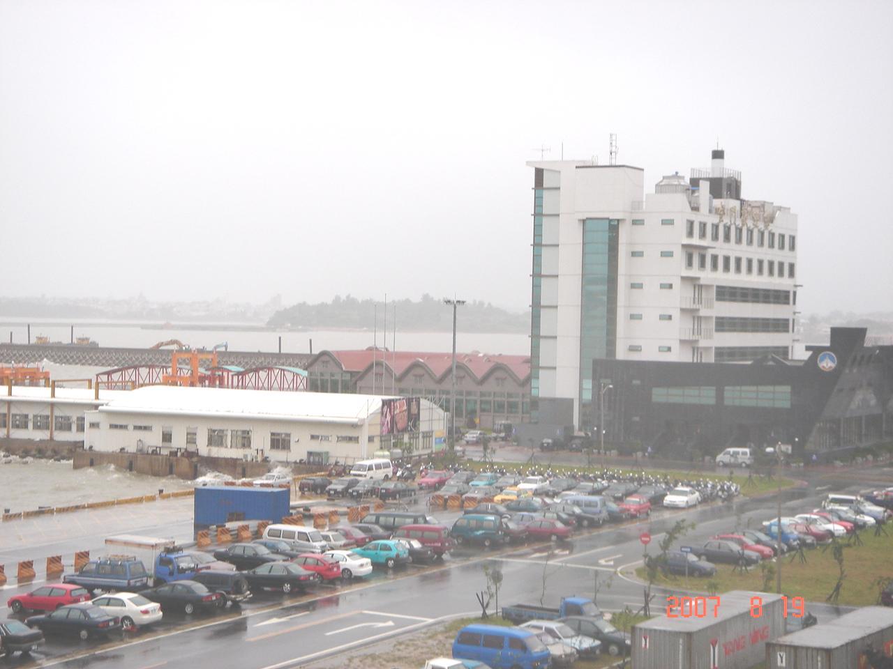水頭港大樓側面