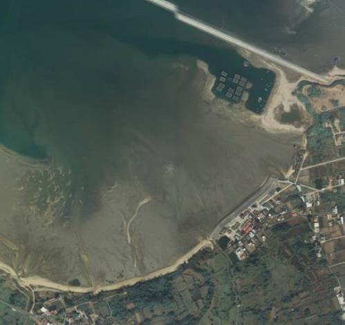 水頭港區空照圖照片共兩張