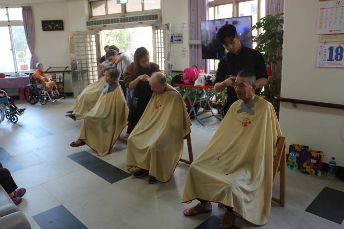 亞洲美容美髮協會蒞家義剪