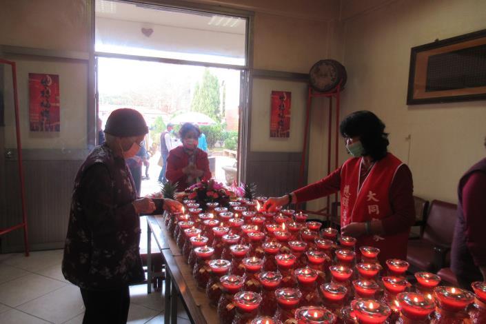 110年元宵節點燈祈福活動6