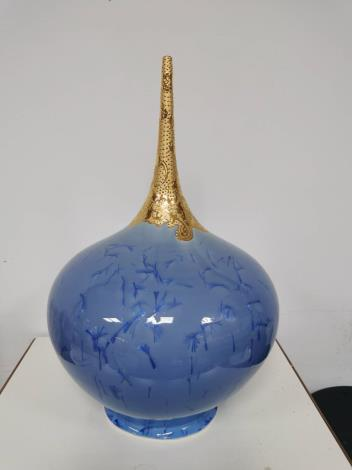 金彩結晶釉2