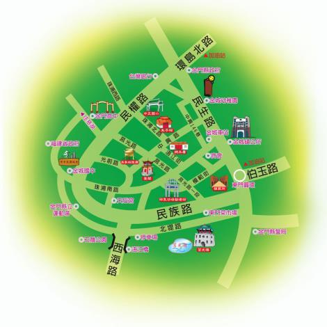 圖片-市中心地圖