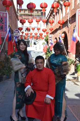 110年金城鎮舞龍舞獅賀新年活動