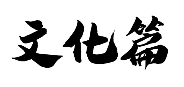 第九篇 文化篇