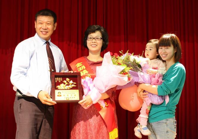 100年母親節表揚大會
