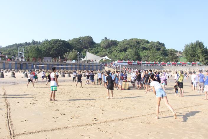 花蛤季沙攤排球比賽