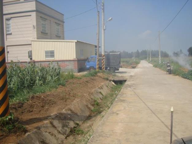 鎮長會勘99排水工程