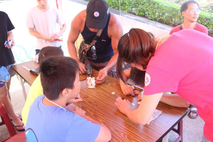 2016花蛤季貝類DIY
