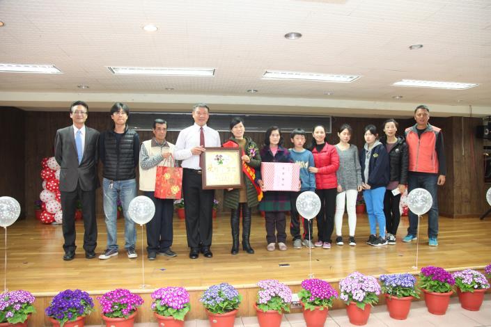 金湖鎮公所107年表揚模範婦女暨模範婆媳活動