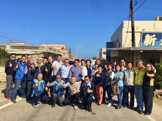 金沙鎮公所率團蒞臨金湖鎮參訪及鎮務交流活動