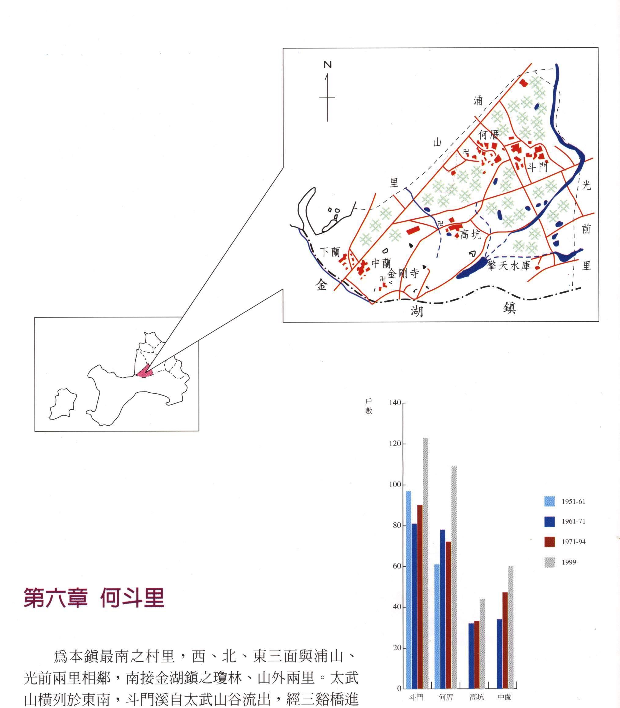 金沙鎮公所-何斗里區域圖