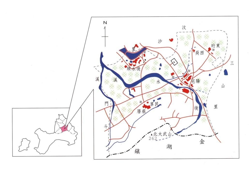 金沙鎮公所-光前里區域圖