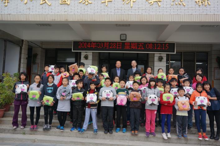 103兒童節贈送禮品暨模範兒童與模範青年表揚