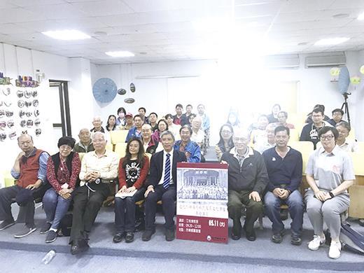 金門國家公園昨日在烈嶼鄉圖書館辦理「近代烈嶼海外移民及其文化傳播」專題講座。(金管處提供)