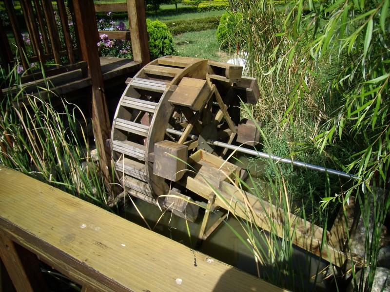 農試所-水車照片
