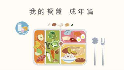「我的餐盤」均衡飲食 成年篇