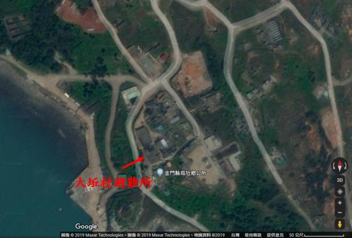 大坵村避難所位置圖