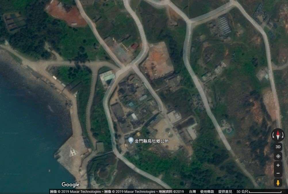 烏坵鄉公所位置圖